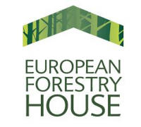 Logo EU forestry house